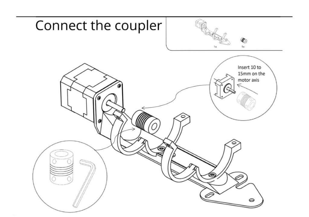 Connect the coupler
