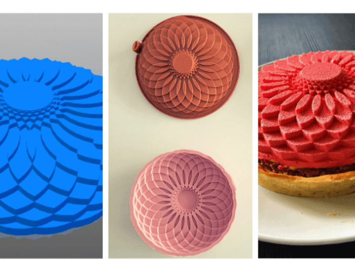 Molds and cake